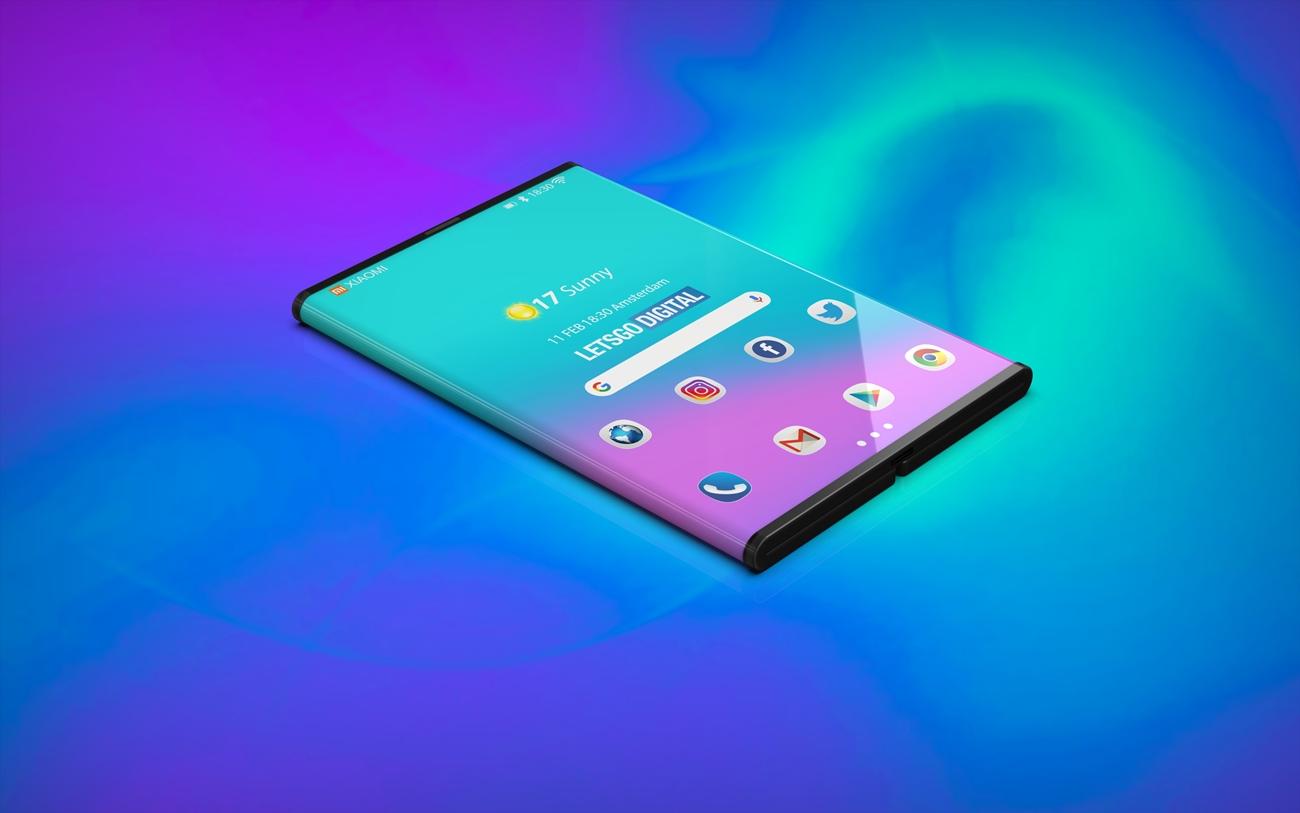 skladací Xiaomi smartfón