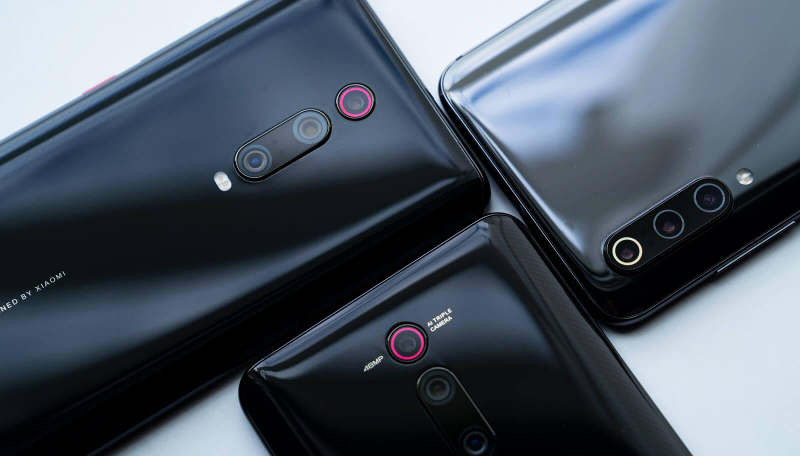 Xiaomi Mi 9 vs Redmi K20 Pro vs Xiaomi Mi 9T