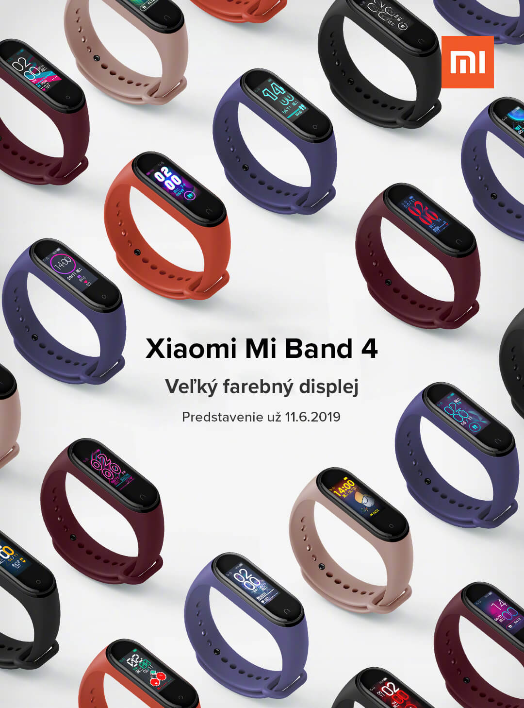 Mi Band 4 display