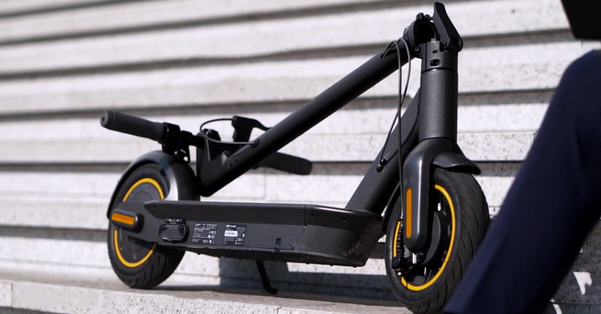 Ninebot Kickscooter Max G30 Has A Range Of 65 Km And A Top Price In Eu Stock