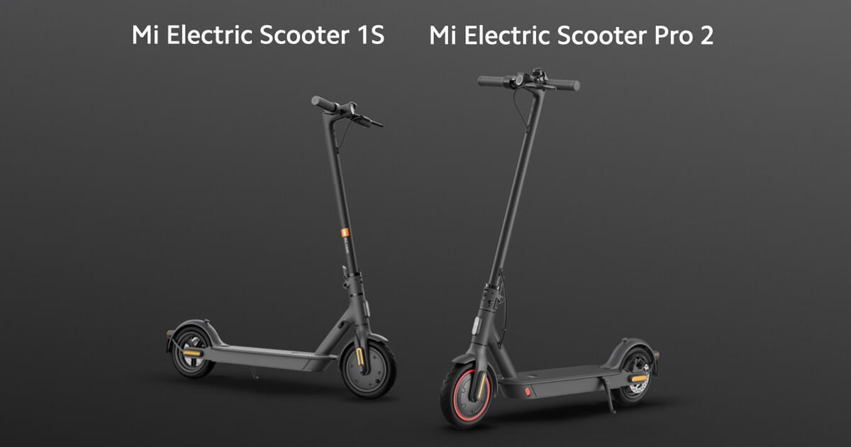 Dies Sind Die Neuen Roller Xiaomi Mi Electric Scooter Pro 2 Und Mi Electric Scooter 1s Sie Werden Mit Ihrem Hervorragenden Preis Leistungsverhaltnis Beeindrucken
