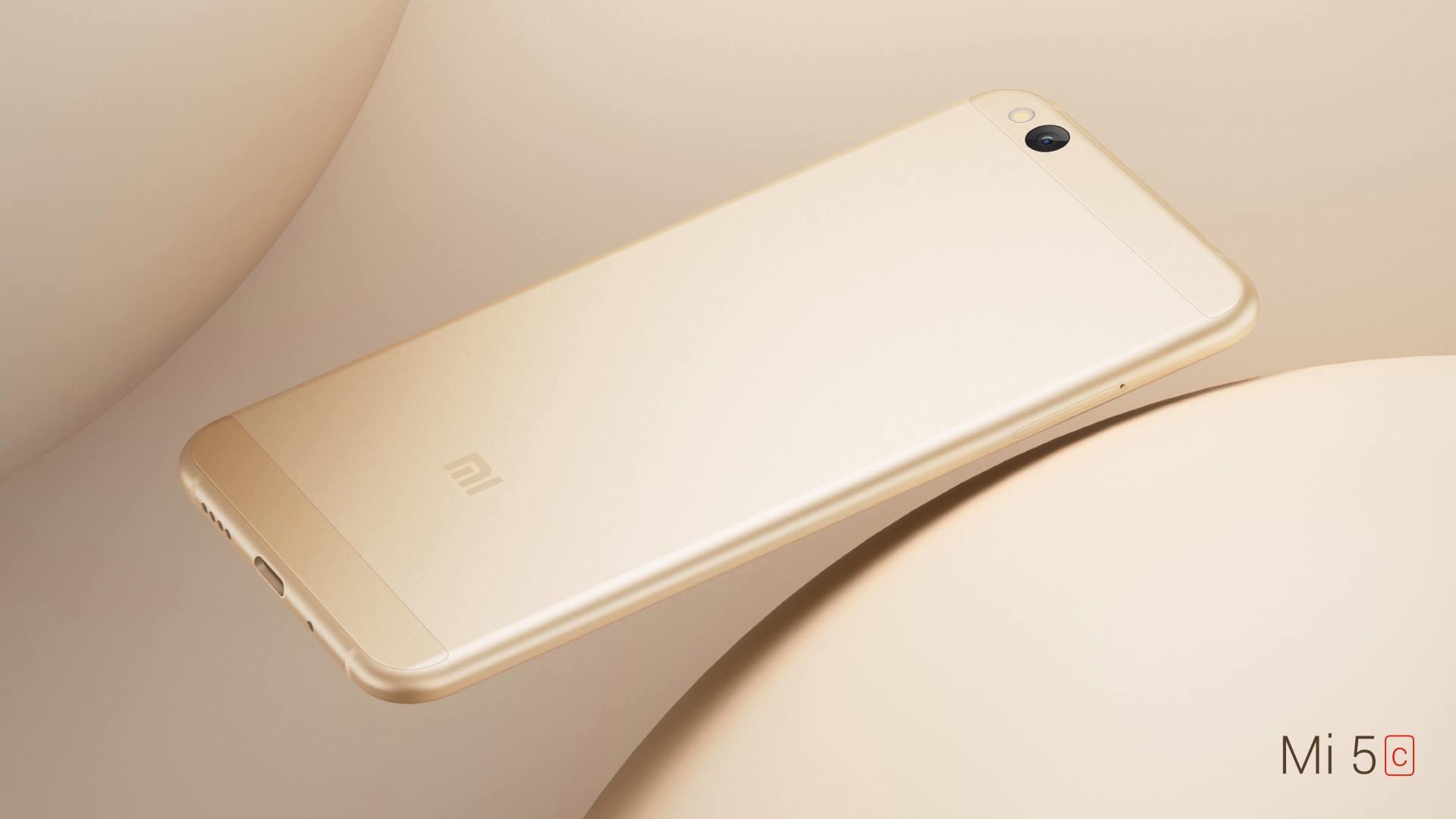 Xiaomi Mi 5C so Surge S1