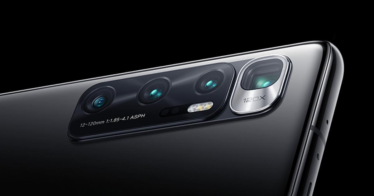 Xiaomi mi 10 ultra fotoaparáty