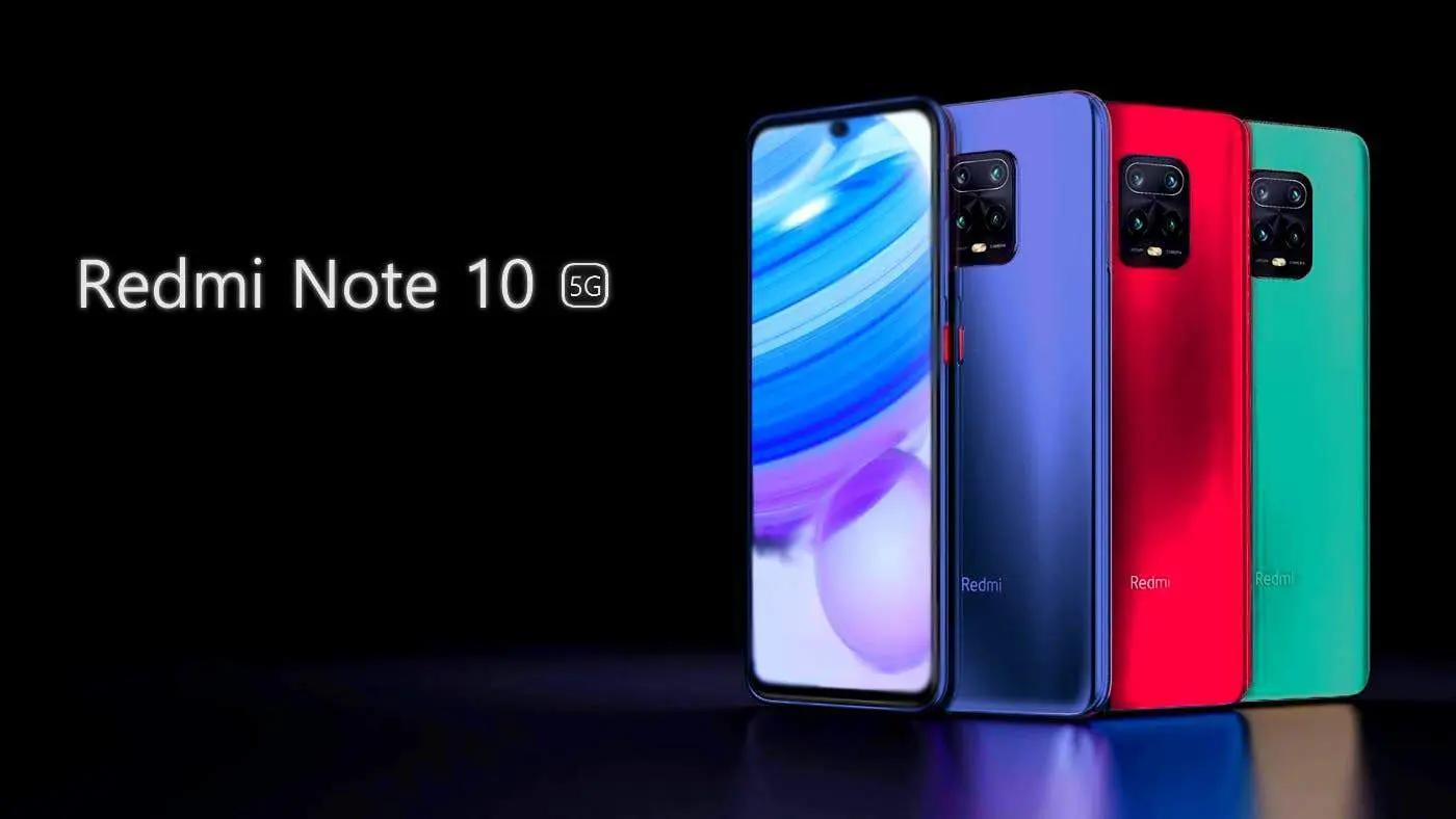 Redmi Note 10 (Pro, 5G?)