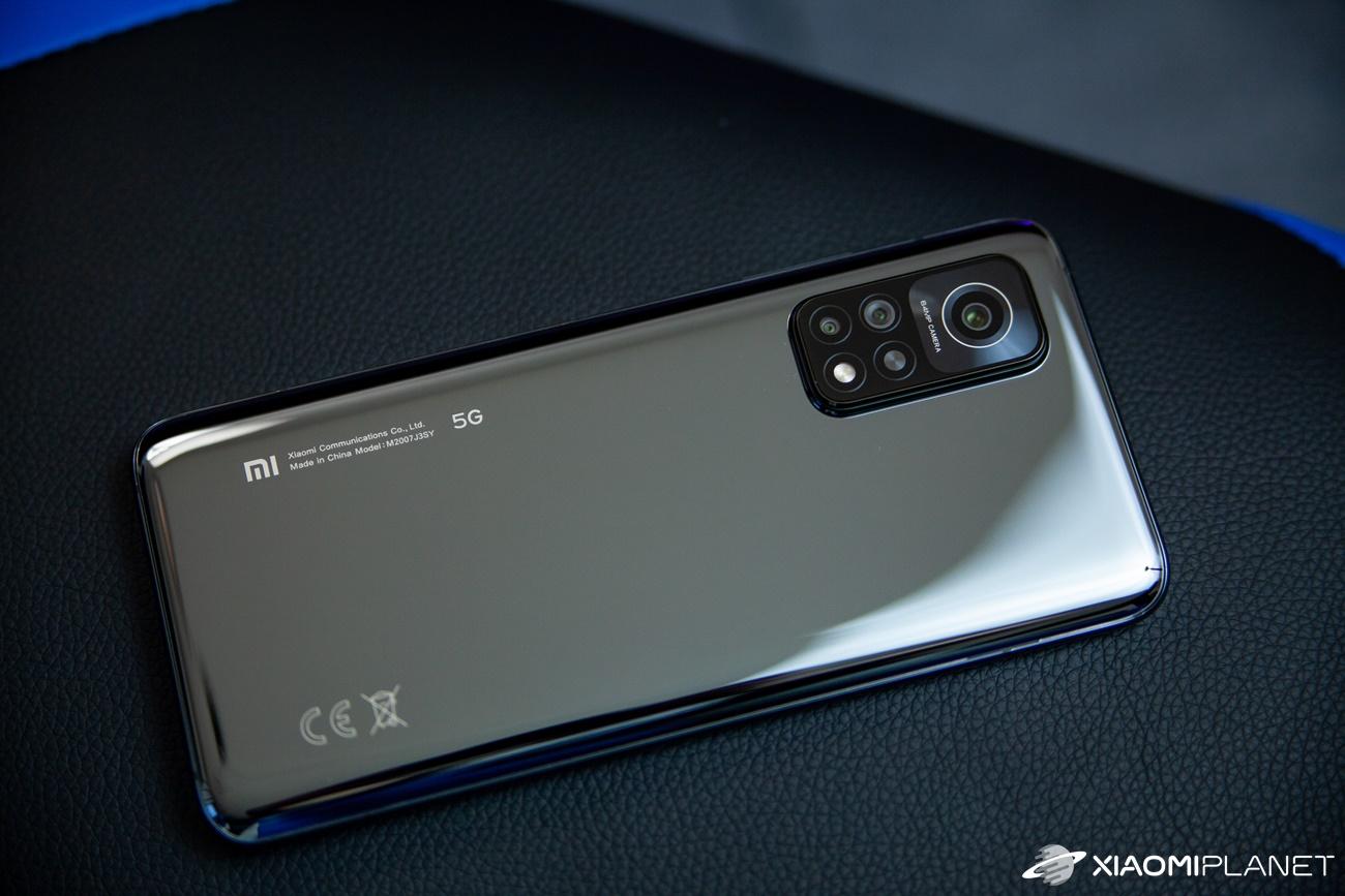 Xiaomi Mi 10T back