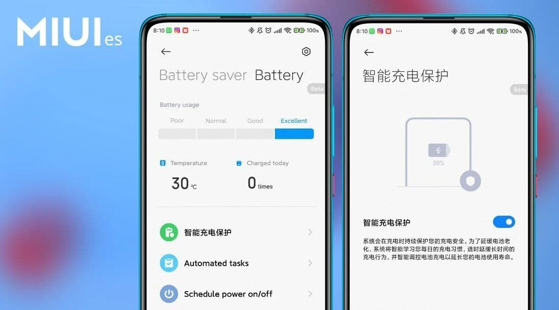 xiaomi miui 12.5 оптимизация батареи