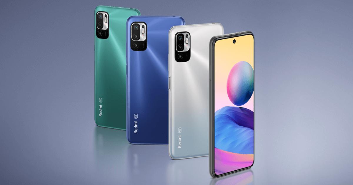 Redmi Note 10 5G: Affordable 5G smartphone with MediaTek processor