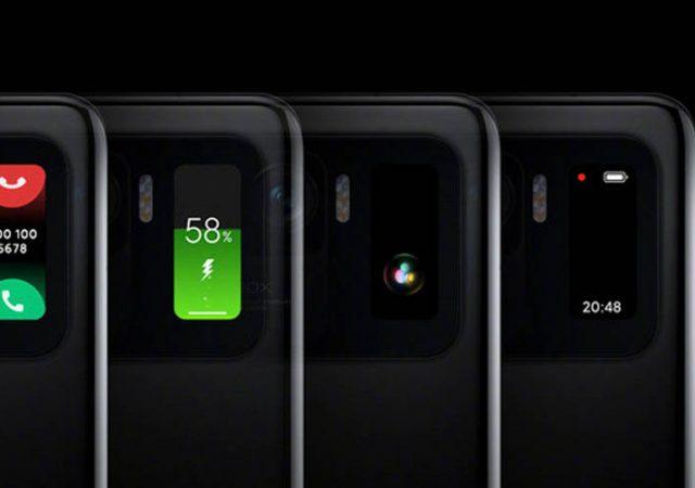 Xiaomi Mi 11 Ultra mini дисплей
