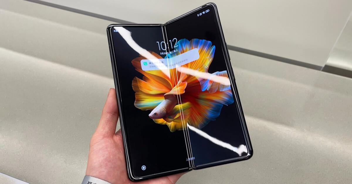 Вот так Xiaomi Mi MIX FOLD выглядит на реальных фото Планета Сяоми