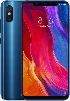 mi 8 modre global